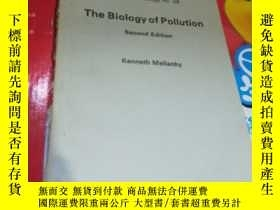 二手書博民逛書店tne罕見biology of pollution 英文圖書Y1