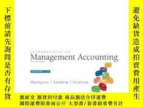 二手書博民逛書店Introduction罕見To Management Accounting, Chap. 1-14 (13th