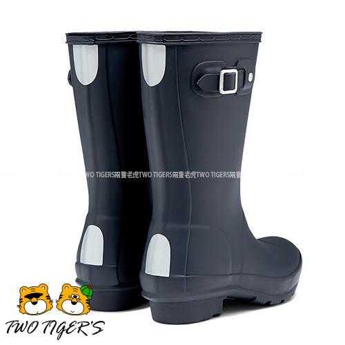 Hunter Boots 深藍色 霧面 兒童雨鞋 雨靴 NO.H1634