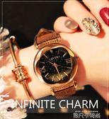 女士手錶女學生韓版簡約時尚潮流ulzzang休閒大氣復古式防水手錶 依凡卡時尚