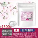 100%日本新田魚鱗膠原蛋白粉共1500...