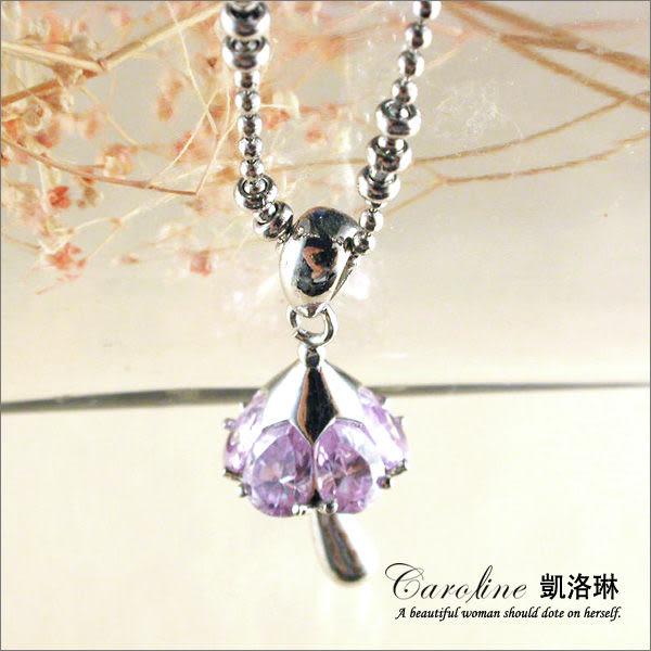 《Caroline》★韓國進口奧地利施華洛世奇水晶時尚項鍊19619