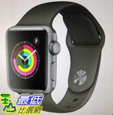 [COSCO代購] W121585 Apple 公釐太空灰色鋁金屬錶殼搭配黑色運動型錶帶