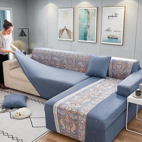 夏季北歐分體式L型沙發套罩全包萬能套通用雙扶手皮沙發防塵蓋巾 「ATF艾瑞斯」