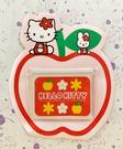【震撼精品百貨】凱蒂貓_Hello Kitty~日本SANRIO三麗鷗 KITTY 磁鐵置物架-蘋果#52621