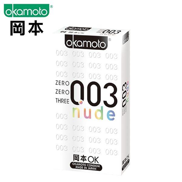 ★岡本003赤裸極薄6入-效期至2019/6