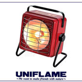 【UNIFLAME 日本 方型暖爐《紅》】630020/瓦斯暖爐/小暖爐/汽化爐/-5℃燃燒可能★滿額送