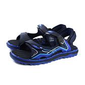 G.P (GOLD PIGEON) 阿亮代言 涼鞋 雨天 黑/藍 男鞋 G9243-23 no343
