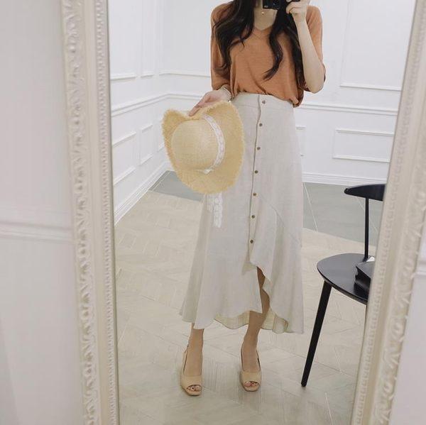 長裙不規則半身裙