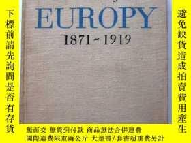 二手書博民逛書店【外文原版】Dzieje罕見EUROPY 1871-1919(歐