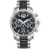 【BENTLEY】賓利 Veneur系列 紳裝狩獵者計時手錶 (黑 BL1694-20018)