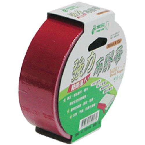 【奇奇文具】北極熊 CLT3615R紅色布紋膠帶36mm×15yds (8卷)