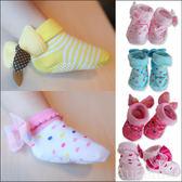 防滑襪 女寶寶 新生兒 立體花邊防滑 全棉 公主襪  襪子 寶寶襪 26207