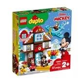 【LEGO樂高】得寶 Duplo 米奇的度假小屋 l#10889