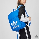 【5/31 - 6/16 限時買1送1】Adidas Originals Trefoil Backpack藍粉 三葉草 帆布 後背包 DJ2172/DJ2173