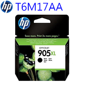 【奇奇文具】HP NO.905XL 原廠黑色T6M17AA大容量墨水匣