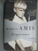 【書寶二手書T5/原文書_LMG】Experience: A Memoir_Amis, Martin