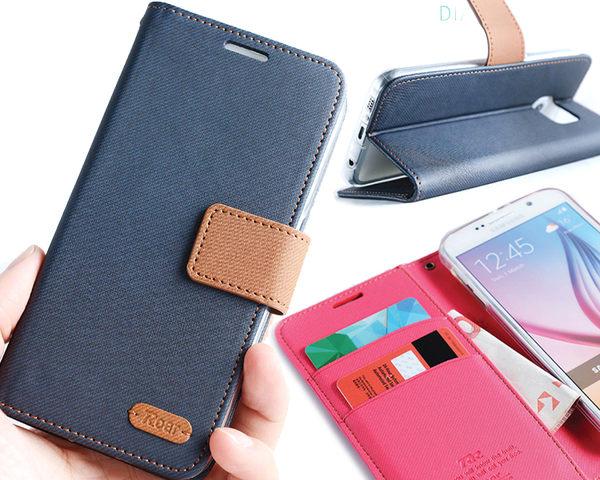 三星J3 (2016) 韓國Roar 斜格紋支架插卡保護套 磁扣錢夾皮套 Samsung GalaxyJ3 J3109 保護殼