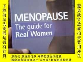 二手書博民逛書店Menopause:罕見The Guide for Real W