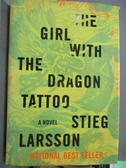 【書寶二手書T1/原文小說_QHG】The Girl with the Dragon Tattoo_Larsson, Stieg/ Keeland, Reg (TRN)