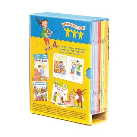 【麥克書店】WORD FAMILY TALE BOX /25BKS
