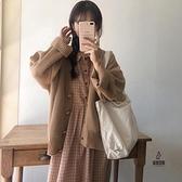 連身裙兩件套女秋冬套裝日系【愛物及屋】