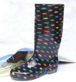長筒雨靴-細緻防水魅力防滑男女雨鞋4色5s29【時尚巴黎】