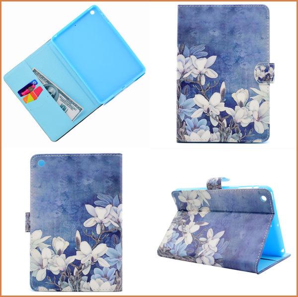 蘋果 iPad Mini 平板皮套 車線 插卡支架 磁釦 ipad mini2 保護套 ipad mini3 保護殼 ipad mini 平板套