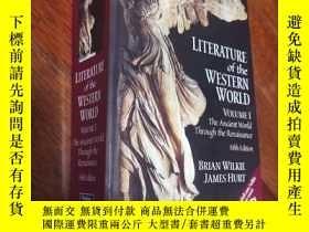 二手書博民逛書店LITERATURE罕見of the WESTERN WORLDY453537 Brian Wilkie, J