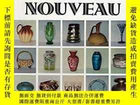 二手書博民逛書店Art罕見Glass NouveauY28384 Leonore