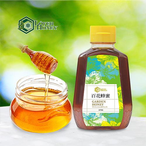 【情人蜂蜜】百花蜂蜜375g