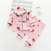 法蘭絨珊瑚絨嬰兒童睡衣女童秋裝秋冬裝男童2網紅寶寶3家居服0歲1    韓小姐