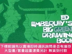 二手書博民逛書店Ed罕見Emberley s Big Green Drawing BookY256260 Emberley,