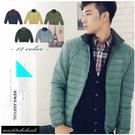【大盤大】(D388) 灰綠 輕量 冬羽絨衣 羽絨外套 拉鍊外套 抗寒 輕薄 易收納 出國旅遊 耶誕禮物