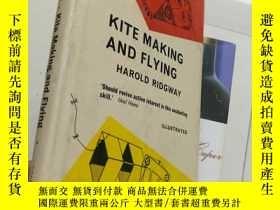 二手書博民逛書店Kite罕見Making and Flying【16開精裝 英文