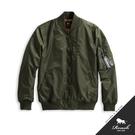 【Roush】 MA-1黑色織帶鋪棉飛行外套 -【715621】
