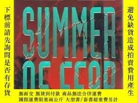 二手書博民逛書店Summer罕見of Fear by Parker, T. Je