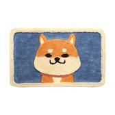 【Incare】可愛卡通加厚吸水防滑踏墊(2款可選)柴犬