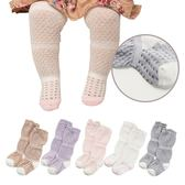超薄鬆口鏤空中高筒兒童襪 洞洞防蚊襪-321寶貝屋