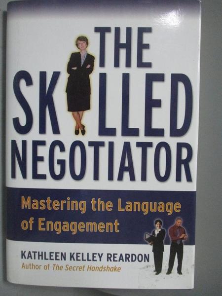 【書寶二手書T3/財經企管_XDR】The Skilled Negotiator-Mastering the Langu