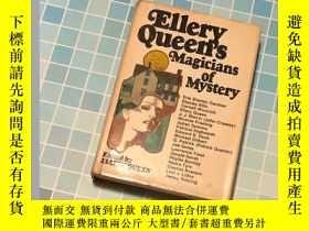 二手書博民逛書店Ellery罕見Queen's Magicians of Mys