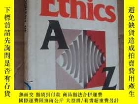 二手書博民逛書店Adictionary罕見of Ethics 《倫理學詞典》 布
