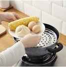 廚房用品蒸架不銹鋼蒸菜架隔熱架高腳蒸飯架蒸籠架蒸蛋架子蒸屜  LX