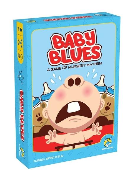 『高雄龐奇桌遊』 超級媬姆 Baby Blues 繁體中文版 ★正版桌上遊戲專賣店★