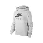 Nike 長袖T恤 Air Hoodie 灰 黑 女款 帽T 運動休閒 【PUMP306】 BV5133-051