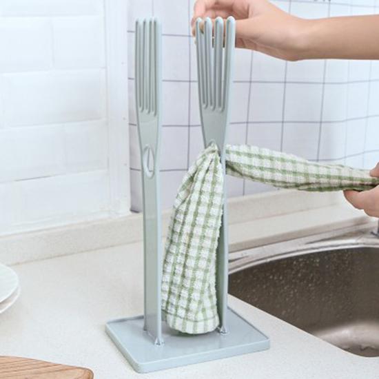 多功能手套瀝水架 橡膠手套 廚房 可拆卸 防燙手套 抹布 晾曬架 收納架【P545】MY COLOR