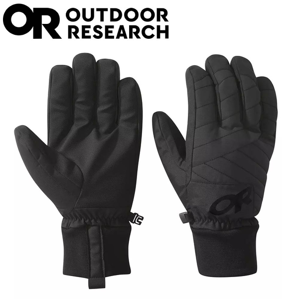 【Outdoor Research 美國 男 RIOT GLOVES 手套《黑》】271554/保暖手套/滑雪/冬季手套