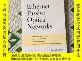 二手書博民逛書店ethernet罕見passive optical networ