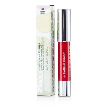 SW Clinique倩碧-182 水漾蜜糖翹唇筆 Chubby Stick Intense Moisturizing Lip Colour Balm - No. 4 Heftiest Hibiscus