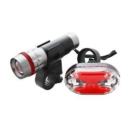 【超人生活百貨】KINYO BLED-7250 25W高亮度自行車燈組 警示燈 自行車 多段調光